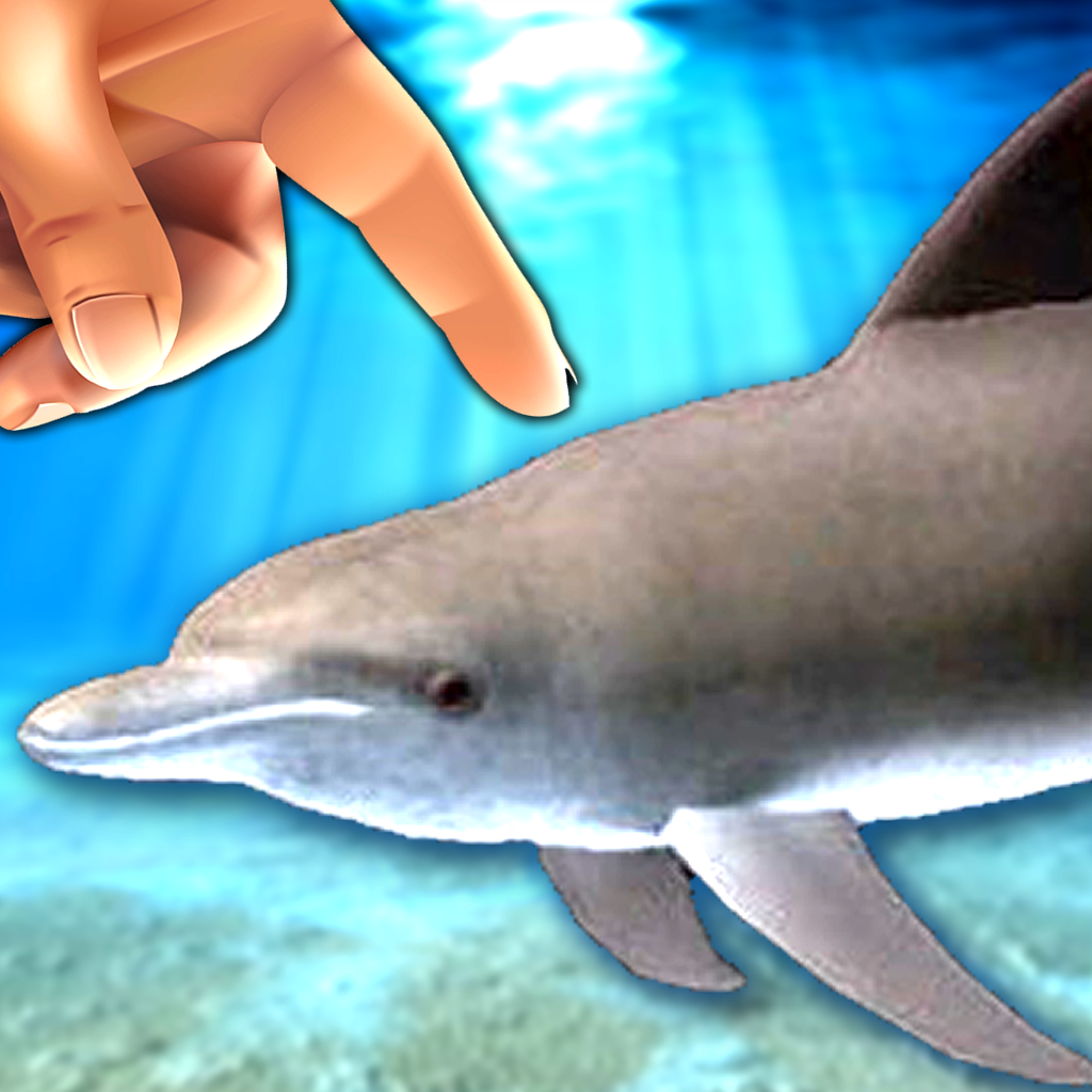 Dolphin Fingers! 3D Interactive Aquarium - Useless Creations ...