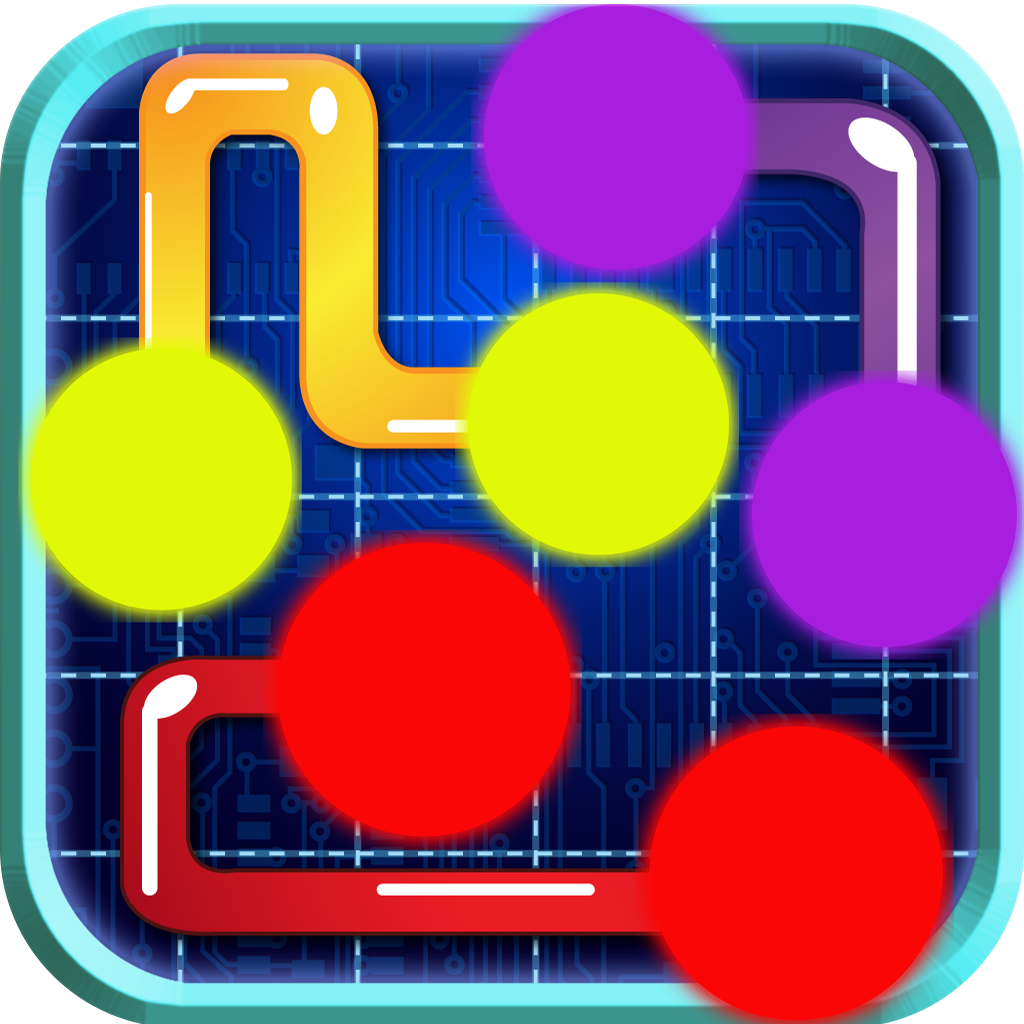 A Dots Connecting Flow Puzzle Free - Match The Dot Line Game